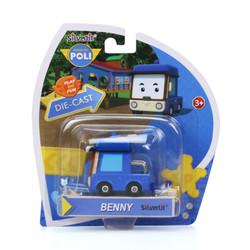 Mainan Robocarpoli Diecast Benny 83254 (Free Wheel)