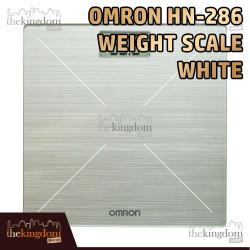 Omron HN-286 Weight Scale White Bathroom Weighing Timbangan Badan