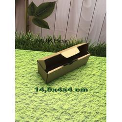 Kardus karton uk. 14,5x4x4 cm...die cut box kotak Souvenir -dll