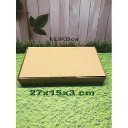 Kardus karton uk. 27x15x3 cm...die cut box kotak Souvenir -dll