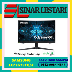 SAMSUNG LED MONITOR GAMING LC27G75TQSE LC 27G75T ODESSEY G7 27 INCH