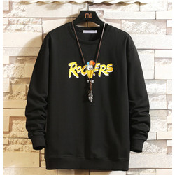 FortKlass ROCKERS Sweater Hoodie Pria Sablon Lengan Panjang