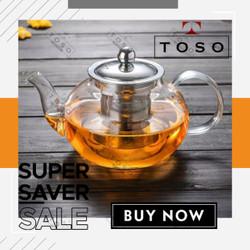 TEKO TEH SARINGAN CHINESE TEA POT 600ML CTP759 TEAPOT WITH FILTER