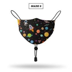 Prodigo Masker Pria dan Wanita kain full print Non Medis MASK 6