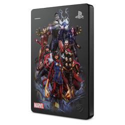 "Seagate Game Drive 2TB Marvel Edition - Harddisk External 2.5"" PS4"