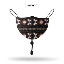 Prodigo Masker Pria dan Wanita kain full print Non Medis MASK 7