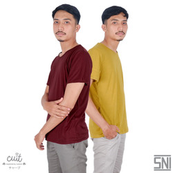 CUIT FAMILY T-Shirt Basic Dewasa Block Color Shika Series