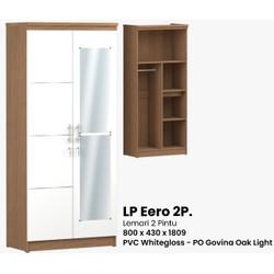 Lemari 2 pintu murah | Eero