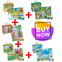 Paket Puzzle Jumbo HWA1369811,12,13,14 & 16