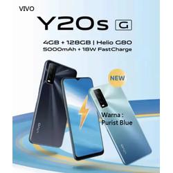 VIVO Y20s G RAM 4/128GB Chipset GAMING G80 5000mAh Fast Charge 18W