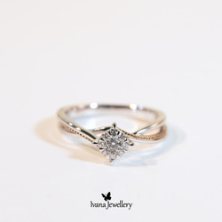 Diamond Ring Anne - Ivana Jewellery