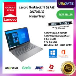 Lenovo ThinkBook 14 G2 ARE Ryzen 3 4300U 8GB 512GB SSD W10 OHS2019