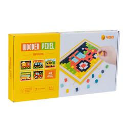Jigsaw Puzzle Kayu Pixel Mosaik / Wooden Pixel Space