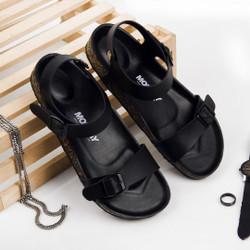 Sandal Slide Pria Boby Black
