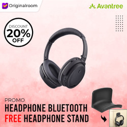 Avantree Active Noise Cancelling Bluetooth Headphone - ANC032