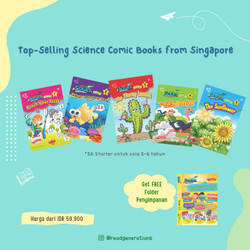 SCIENCE ADVENTURES Starter (5-6 years old) - Vol. 1 (5 Books)