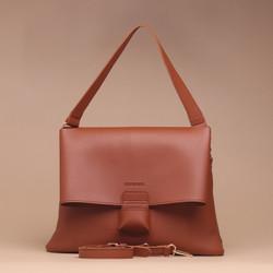 Tas Wanita Silvertote Carmen Shoulder Bag Brown