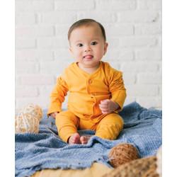 Takoyakids Essentials Suki Foldable Pyjamas Sets Mustard