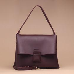 Tas Wanita Silvertote Carmen Shoulder Bag Maroon