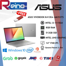 "ASUS K413EA AM353TS i5-1115G4 8GB 512GB SSD 14"" FHD IPS OHS WIN10"