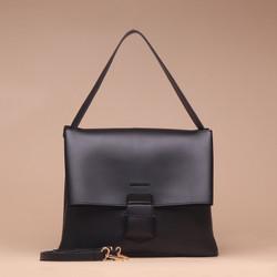 Tas Wanita Silvertote Carmen Shoulder Bag Black