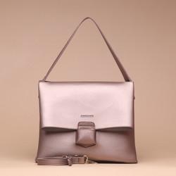 Tas Wanita Silvertote Carmen Shoulder Bag RoseGold