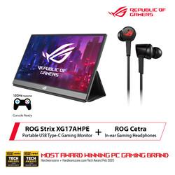 ASUS ROG Cetra X ASUS ROG Strix XG17AHPE Bundle Package