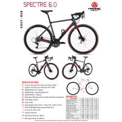 Sepeda Balap Pacific SPECTRE 6.0 Carbon 700C Road Bike