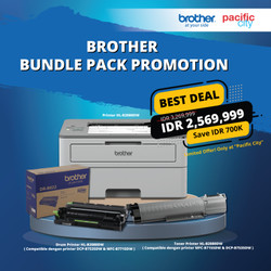 (Bundle Pack) Printer Brother HL-B2080DW & Drum B-022 & Toner B-022