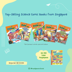 SCIENCE ADVENTURES Connect (6 to 8 years old) - Vol. 1 No. 1-5 (5pcs)