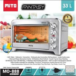 Oven Listrik Mito Fantasy MO 888 MO-888 Kapasitas 33 Liter RESMI