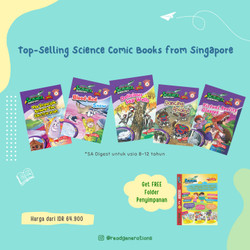 SCIENCE ADVENTURES Digest (8 to 12 years old) - Vol. 1 No. 1-5 (5pcs)