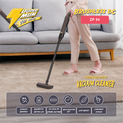 Zuuper Mum Dust Buster Cordless Stick Vacuum Cleaner (Brushless) ZP04
