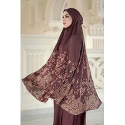 Haramain Prayer Robe - Maroon