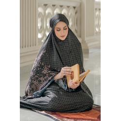 Haramain Prayer Robe - Black