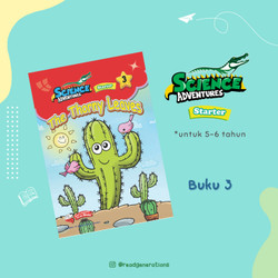 SCIENCE ADVENTURES Starter (5 to 6 years old) - Vol. 1 No. 3