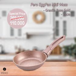 PERO FRY PAN MIDI 14CM - ROSEGOLD