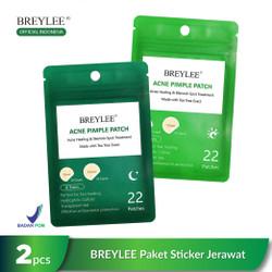 [BPOM] BREYLEE Pimple Patch, Paket Stiker Jerawat Pagi dan Malam