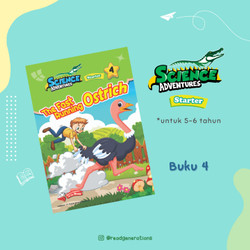 SCIENCE ADVENTURES Starter (5 to 6 years old) - Vol. 1 No. 4