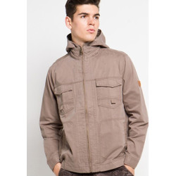 Emba Classic-Lerk Jacket Pria Warna Khaki