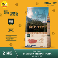 BRAVERY Dog Food Rasa Iberian Pork 2kg
