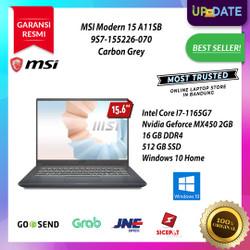 MSI Modern 15 A11SB [9S7-155226-070] i7-1165G7 16GB 512GB MX450 2GB