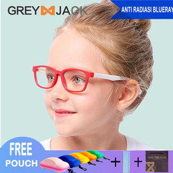 Kacamata Anak/ Kacamata Anti Radiasi/ Kacamata Anti Sinar Biru/8140