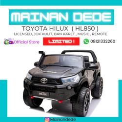 Mainan Mobil Aki Anak Toyota HILUX HL850 License