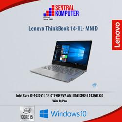 Lenovo ThinkBook 14-IIL- MNID|I5-1035G1|8GB|512GB SSD|Win 10 Pro