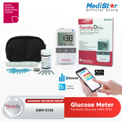 FamilyDr Blood Glucose Monitor ABM-513S (Bluetooth)