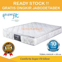 Comforta Super Fit Silver 160x200 Tanpa Divan/Sandaran