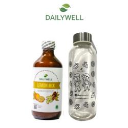 Bundling Dailywell Lemon Mix dan Tumbler Bening Dailywell