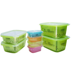 Claris Parcel Tempat Makan Set/Paket Kotak Makan set Mix Color