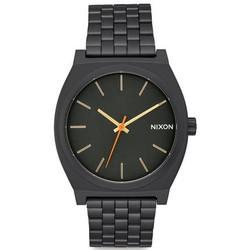 NIXON A0451032 TIME TELLER ALL BLACK SURPLUS